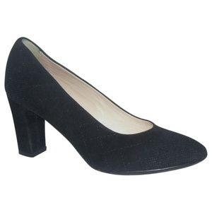 NEW Aquatalia by Marvin K Textured Suede Pumps 7B